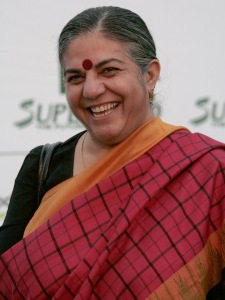 Vandana Shiva at the Save The World Awards show 2009