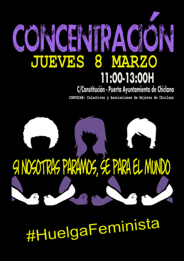 CARTEL CONCENTRACIÓN CHICLANA